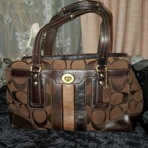 Authentic Coach Bag. Brown. Good Condition
